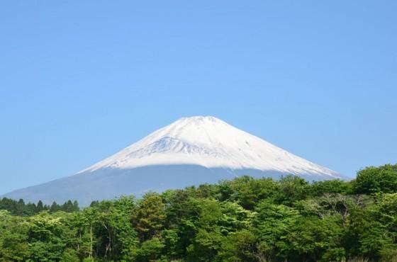 裾野市 富士山