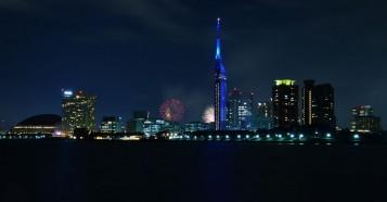 百道浜・夜景