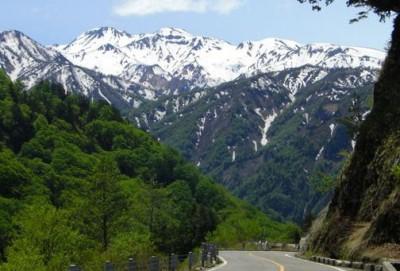 白山スーパー林道