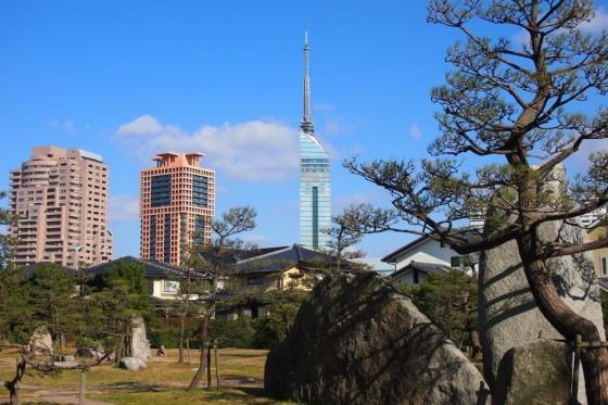 福岡タワー 百道浜より